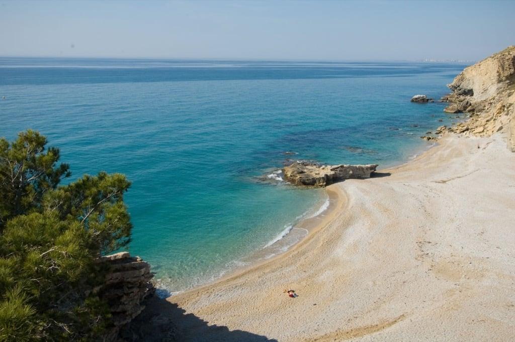 Playa La Caleta. Villajoyosa
